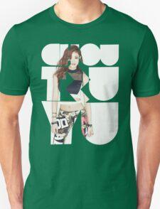TWICE 'Chou Tzuyu' Typography T-Shirt