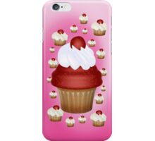 Cherry Cupcake .. iphone case iPhone Case/Skin