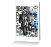 The First Doctor Greeting Card