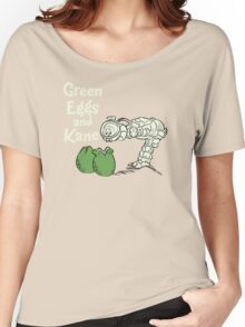 Green Eggs and Kane Women's Relaxed Fit T-Shirt