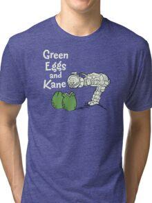 Green Eggs and Kane Tri-blend T-Shirt