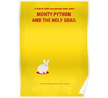 No036 My Monty Python And The Holy Grail minimal movie poster Poster