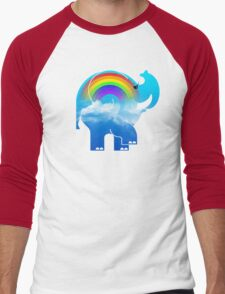 ELLE RAINBOW Men's Baseball ¾ T-Shirt