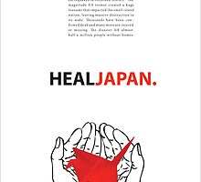 Heal Japan #1 by Andrew Kinsey