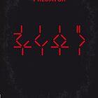 No066 My predator minimal movie poster by Chungkong