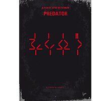 No066 My predator minimal movie poster Photographic Print