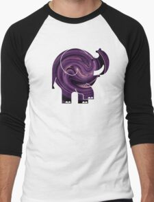 ELLE SWIRL Men's Baseball ¾ T-Shirt