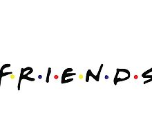 FRIENDS Logo by steffirae