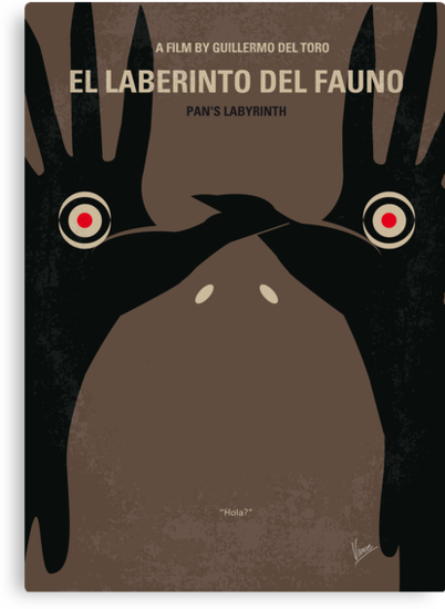 No061 My Pans Labyrinth minimal movie poster by Chungkong
