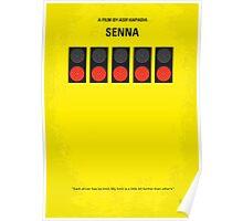 No075 My senna minimal movie poster Poster