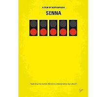 No075 My senna minimal movie poster Photographic Print