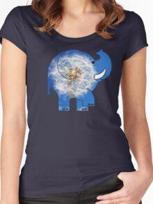 ELLE DANDYLION Women's Fitted Scoop T-Shirt