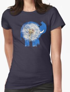 ELLE DANDYLION Womens Fitted T-Shirt