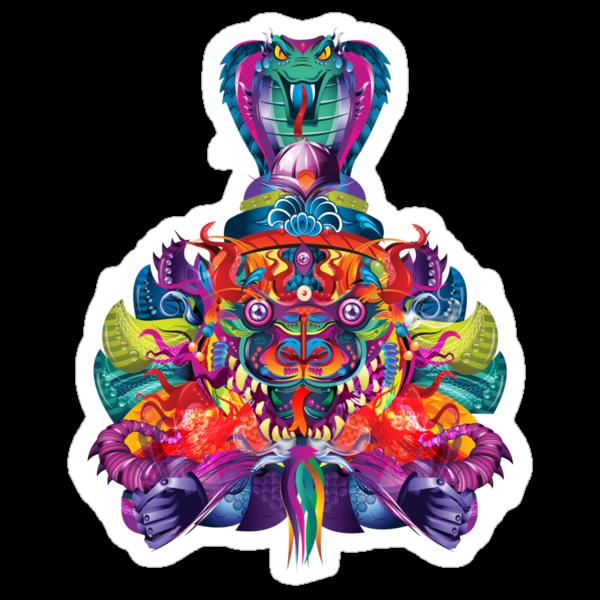 Rainbow Dragon by candelakis