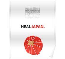 Heal Japan #3 Poster