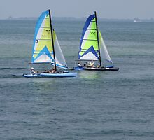Twin Catamarans by TedT