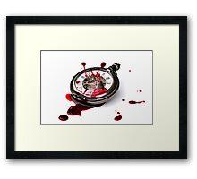 Times Bloodbath Framed Print