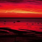 Sunrise in Provincetown [Red] by peterrobinsonjr