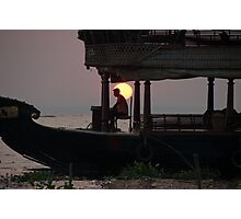 Kettuvallam At Sundown Photographic Print