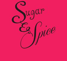 Sugar and Spice II Womens Fitted T-Shirt