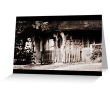 Fairytale cottage Greeting Card
