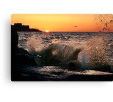Edgwater State Park, Cleveland Ohio Canvas Print