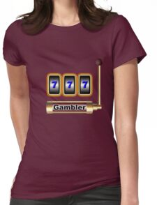 gambler Womens Fitted T-Shirt