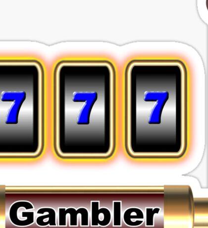 gambler Sticker