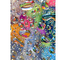 Coloured Reflection Photographic Print