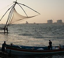 Chinese Fishing Nets by Clive S