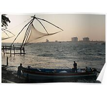 Chinese Fishing Nets Poster