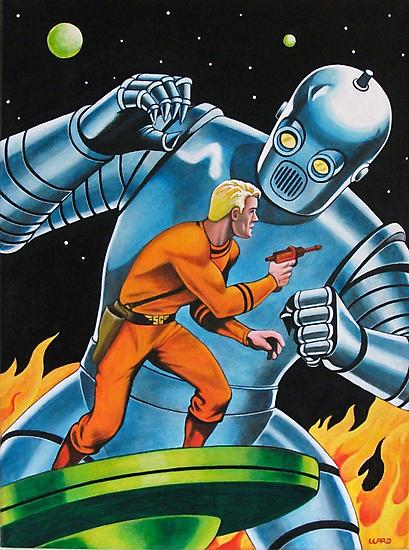 GIANT ROBOT SLAYER by ward-art-studio