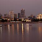 Mumbai Shoreline by Clive S