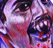 Vamp Freddie Sticker