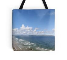 Downhill Beach Tote Bag