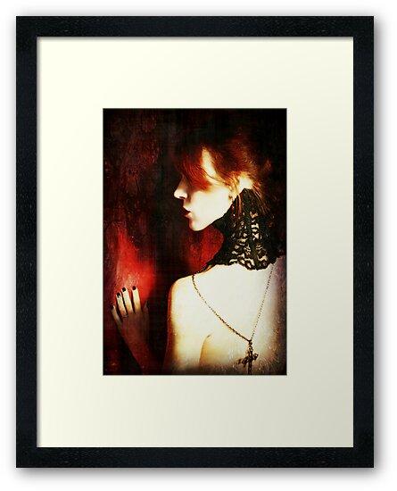Crimson and Lace by Jennifer Rhoades