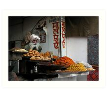 FAST FOOD - PUSHKAR Art Print