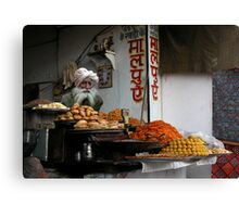FAST FOOD - PUSHKAR Canvas Print