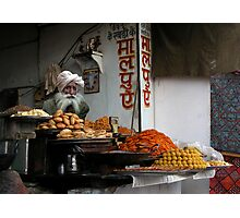 FAST FOOD - PUSHKAR Photographic Print