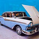 1957 Ford Fairlane 500 by Bryan D. Spellman