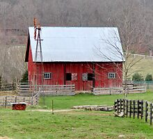 Barn Harrodsburg, Indiana by ken2086