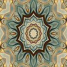 Baroque Earth tones Rosette- R90 by Heidivaught