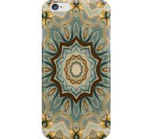 Baroque Earth tones Rosette- R90 iPhone Case/Skin