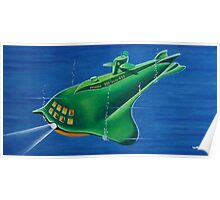 SEAVIEW SUBMARINE Poster