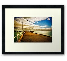 Into my Past... Framed Print