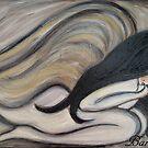 ANGEL no1 by Barbara Cannon Art Studio