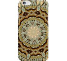 Baroque Earth tones Rosette- R92 iPhone Case/Skin