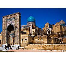 Shah-i-Zinda Photographic Print