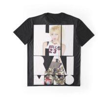 TWICE 'Hirai Momo' Typography Graphic T-Shirt