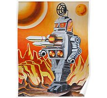 MISSLE ROBOT Poster